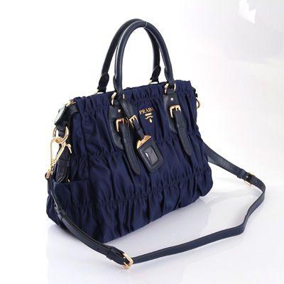 Cheap Price VA0830BN BN1336 Blue Nylon Sale prada replica handbags