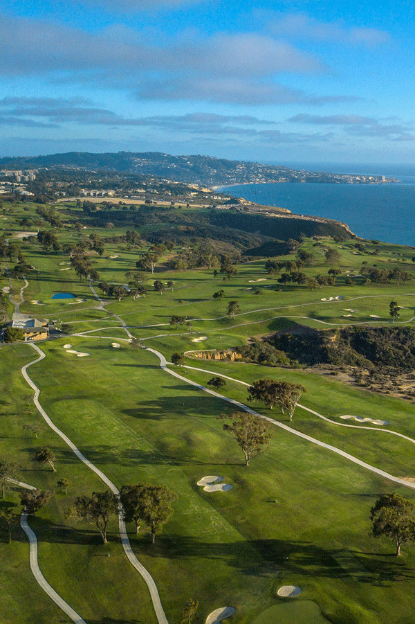 The Links At Torrey Pines Are Not Just For The Pros San Diego S Most Stunning Beachside Course Is Open To San Diego Golf San Diego Getaway San Diego Vacation