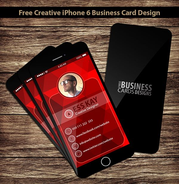 Free creative iphone 6 business card design on behance inspiration free creative iphone 6 business card design on behance reheart Gallery