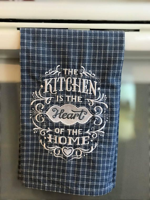 Awe Inspiring Kitchen Is The Heart Of The Home Country Tea Towel Home Interior And Landscaping Eliaenasavecom