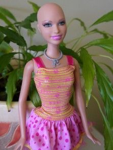 "d4b38701b550c9 Barbie s Bald Friend ""Ella"" is Now Available to Children"