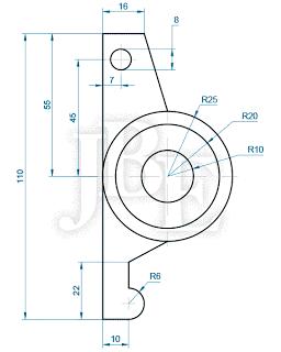 100 Practico Ejercicios Basicos Desarrollados De Autocad Tecnicas De Dibujo Ejercicios De Dibujo Dibujos De Lineas Simples