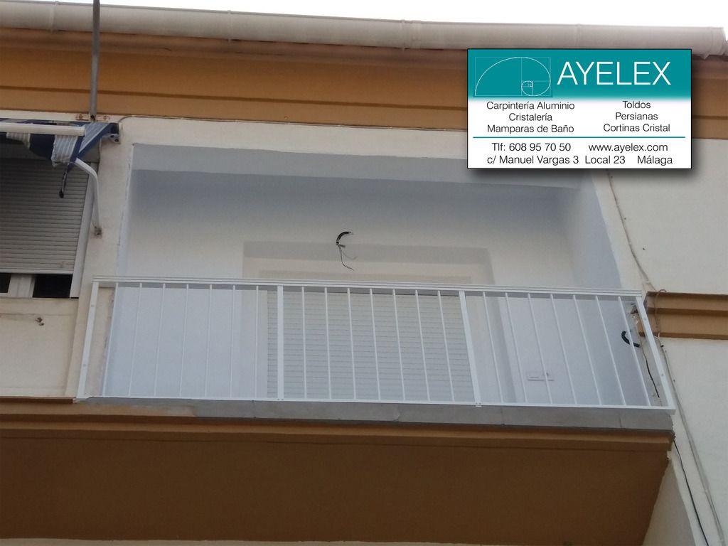 Baranda de aluminio para terraza instalaci n sin obra - Barandas de aluminio ...