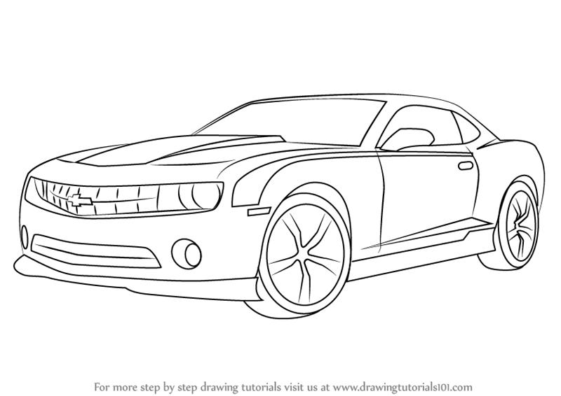 Myndaniðurstaða fyrir chevrolet camaro drawing | bilar. | Pinterest