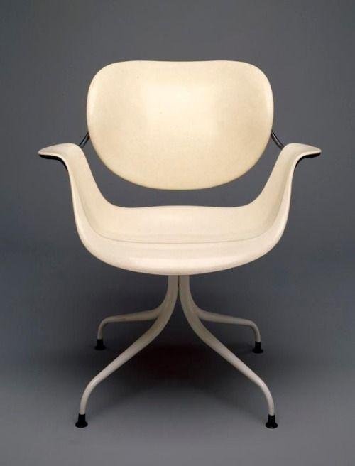 Vjeranski George Nelson Swag Leg Chair 1958 Chair Design Furniture Design Modern Furniture Chair