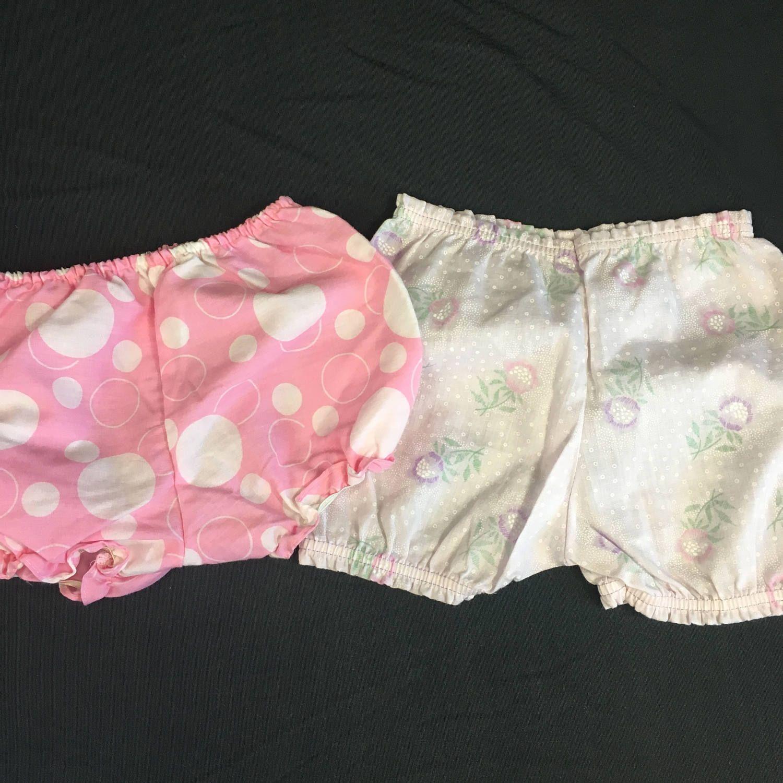Vintage Baby Summer Bloomer Set