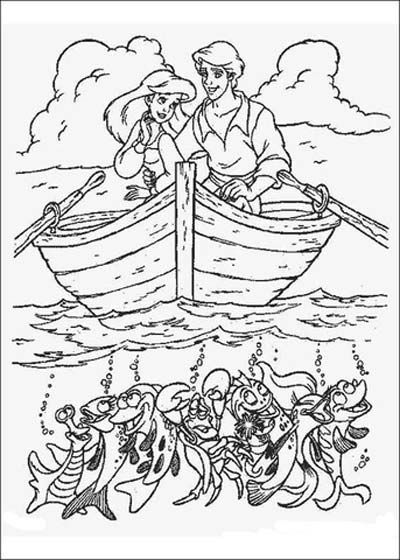 101 Little Mermaid Coloring Pages (March 2020) and Ariel