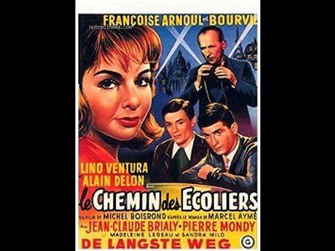 Le Chemin Des Ecoliers 1959 Avec Bourvil Alain Delon Jean