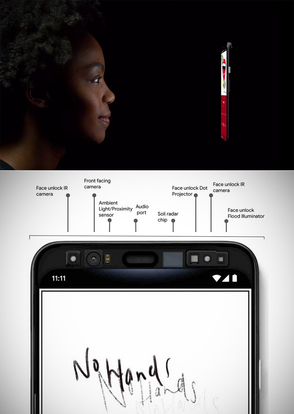 Google pixel 4 will use radar technology for face unlock