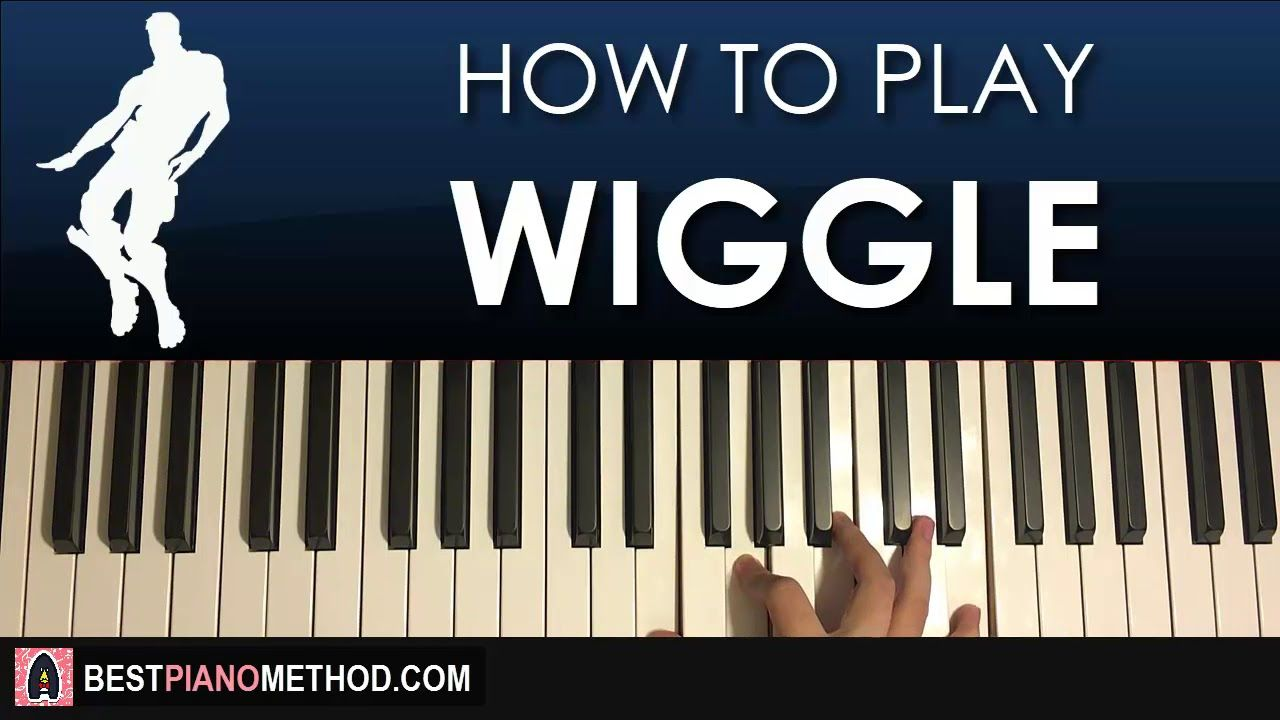 How To Play Fortnite Wiggle Dance Music Piano Tutorial Lesson