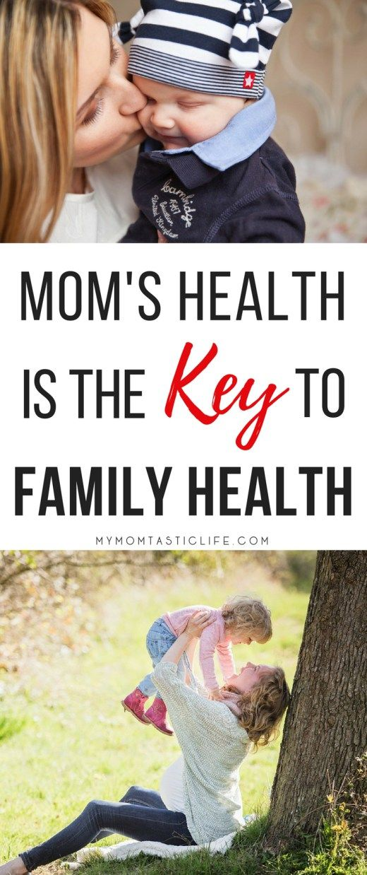 Mom's Health Is The Key To Family Health