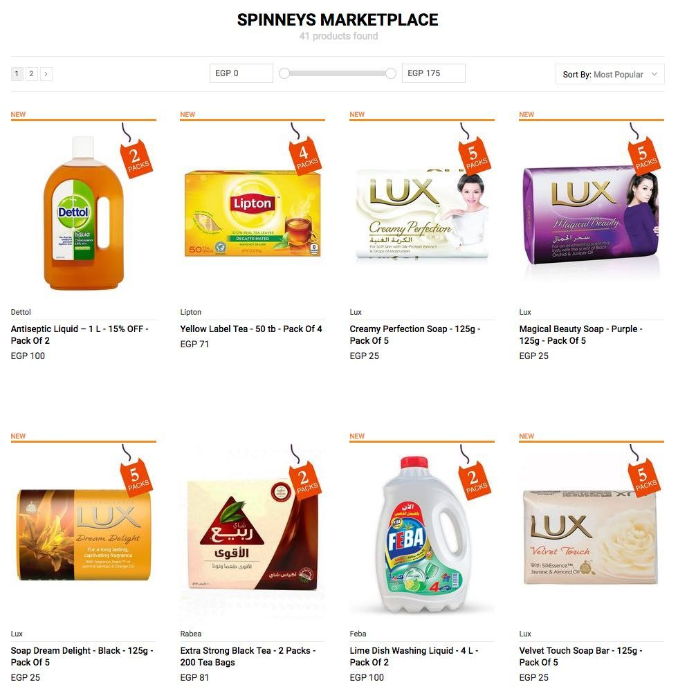 Free Delivery From Spinneys Grocery Shopping At Jumia Egypt Edealo Grocery Shop Shopping Free Delivery