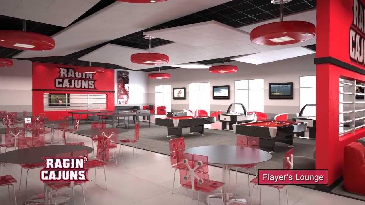 University Of Louisiana Lafayette Athletic Performance Center Tour Office IdeasLouisianaAthleticArchitectureInterior DesignSportsUniversity