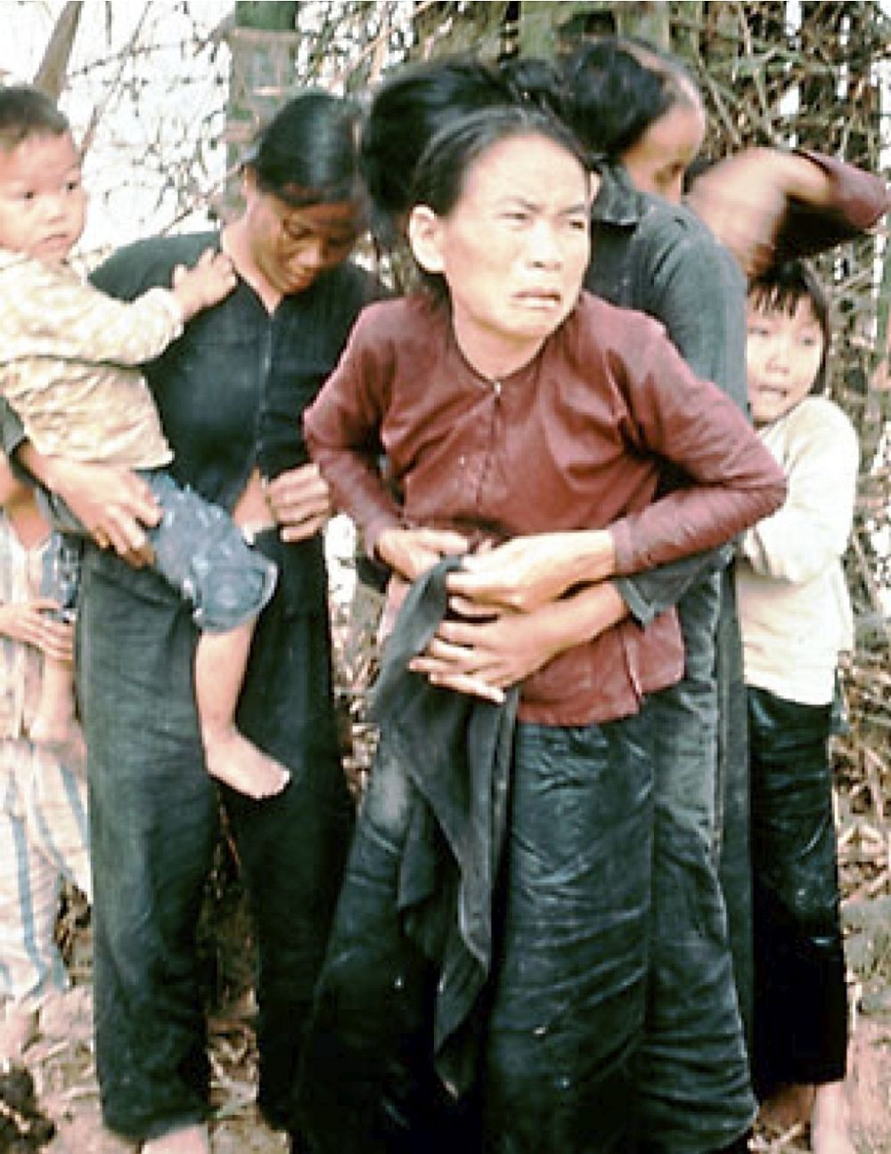 The Mỹ Lai Massacre- was the Vietnam War mass killing of between 347 and 504 unarmed civilians in South Vietnam on March 16, 1968. It was committed by U.S. Army soldiers. Victims included men, women, children, and infants. Some of the women were gang-raped and their bodies mutilated.Twenty-six soldiers were charged with criminal offenses, but only William Calley Jr., a platoon leader, was convicted. Found guilty of killing 22 villagers, he was originally given a life sentence...
