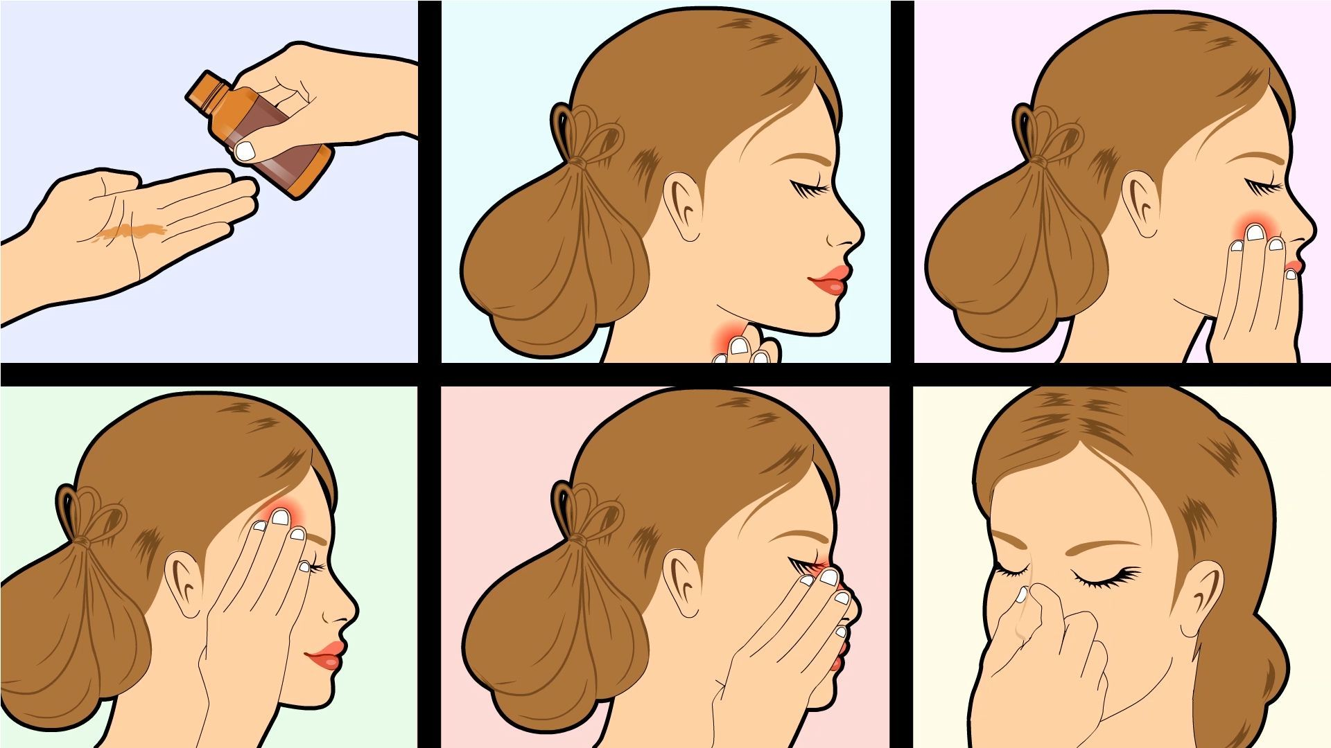 massages Types of facial
