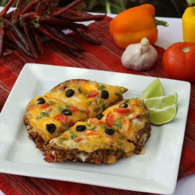 Link to Video Recipe for making my Skinny Mexican Pizza.  Cook with me!!!