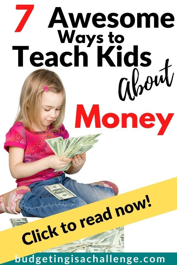 7 Creative Ways to Teach Kids About Money - Budgeting is a ...