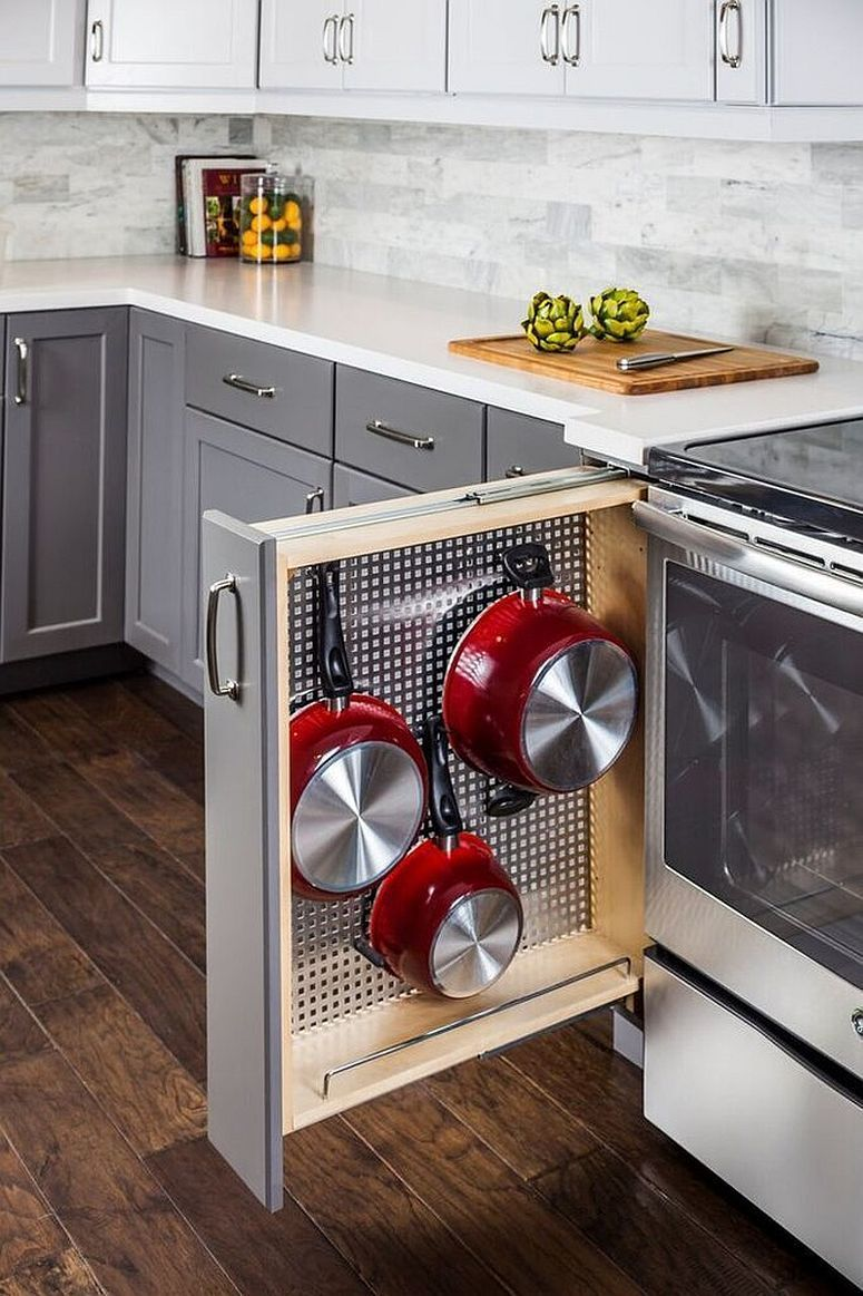 Small kitchen? No problem. Save space, stay stylish. Here