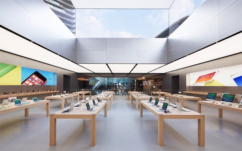 The New Apple Store In Istanbul Is Absolutely Beautiful Photos Apple Store Apple Store Design Apple Shop