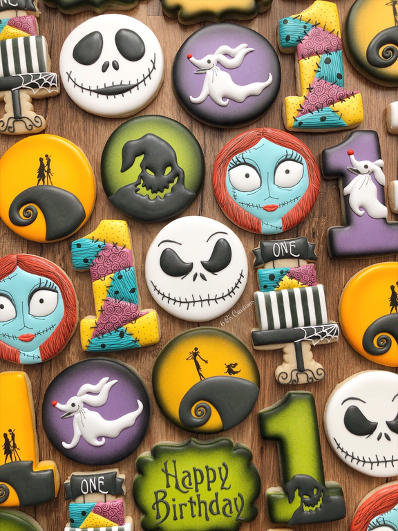 Nightmare before Christmas Cookies Baking (With images