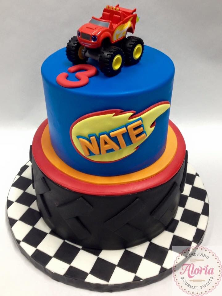 How To Make A D Monster Truck Cake