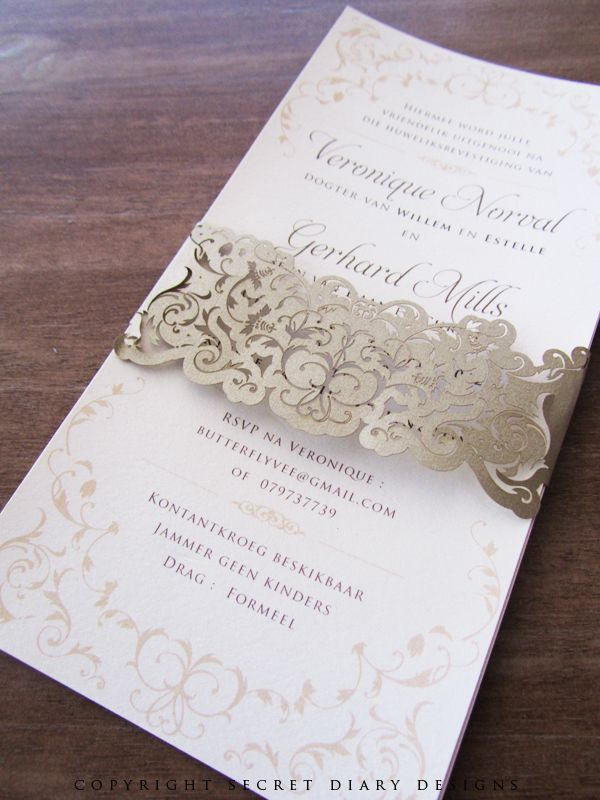 Vernonique-DL-Lasercut-bellyband-invite-02 | Versailles Wedding ...