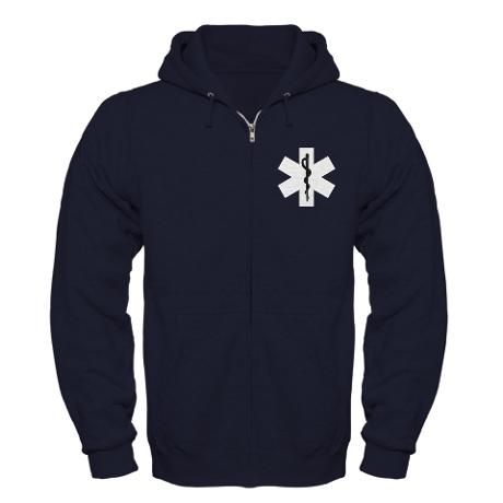 EMS Star of Life Zip Hoodies and T-Shirts