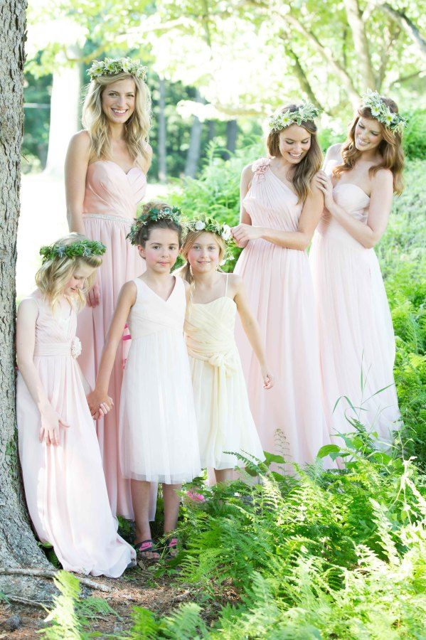 Mix 'n' Match Bridesmaid Dresses from Bari Jay