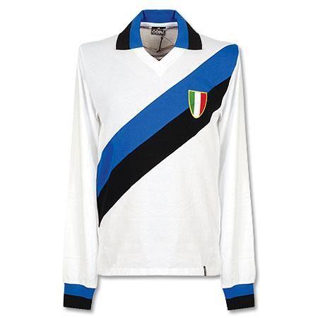 7b2deafea4ff3 Camiseta Retro del Inter de Milan 1960 Visitante - Manga Larga ...