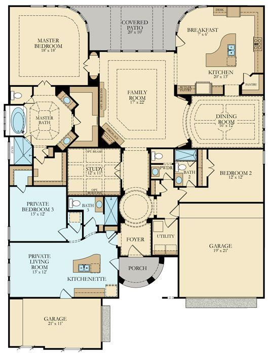 Parker New Home Plan In Falls At Imperial Oaks Classic And Kingston Collections New House Plans House Plans Dream House Plans