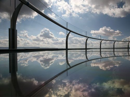 The Grand Canyon Skywalk.  I am terrified of heights but would love to experience the Skywalk.