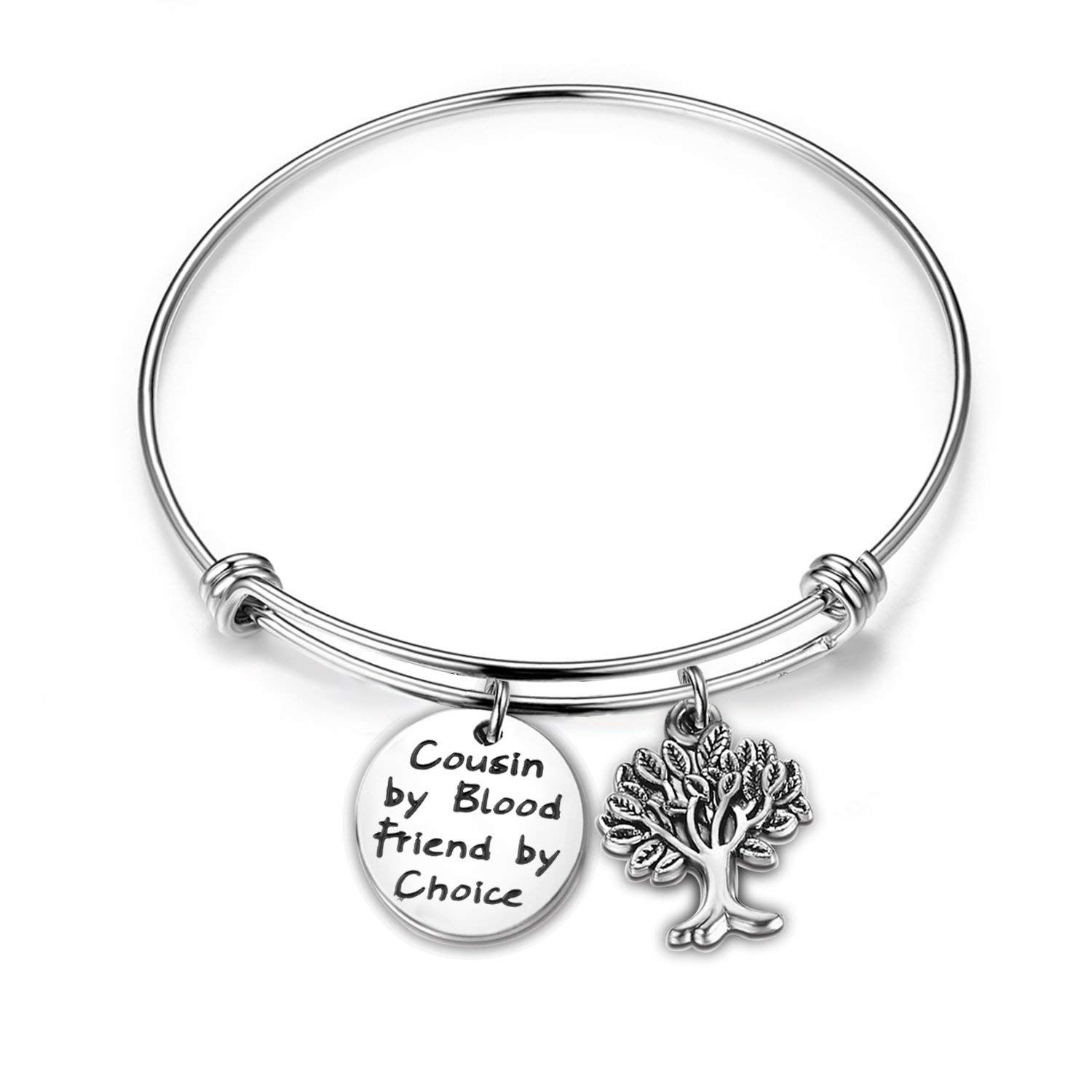 Maofaed Cousin Gift Bracelet By Blood Friends Choice Family Tree For Cousins You Can Get Additional Details At The Image