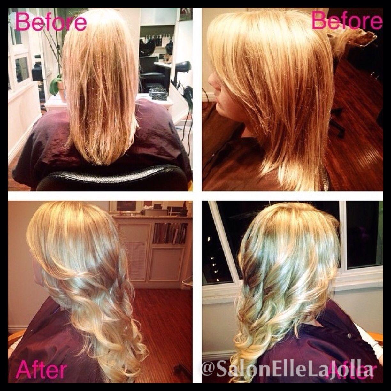 Blonde Hair Natural Long Layer Haircut Long Hairstyle Hair