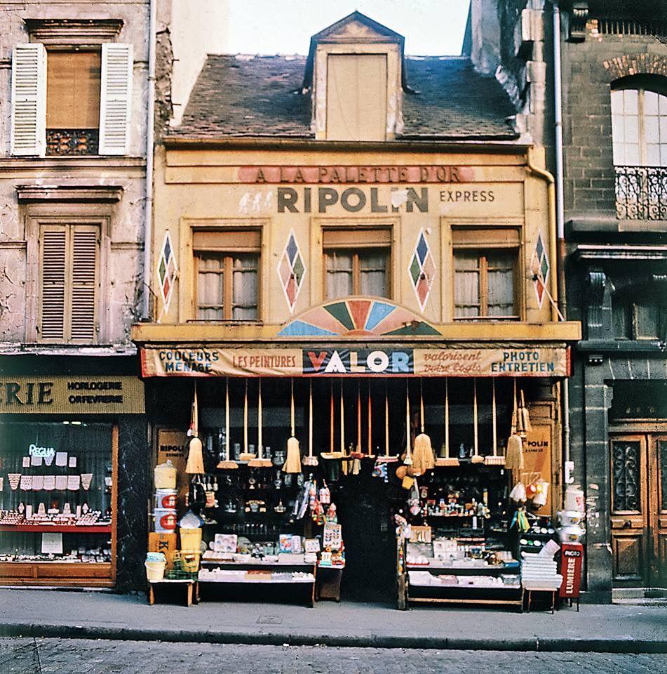 Boutiques Des Années 1960. Photos Pierre Paul DARRIGO