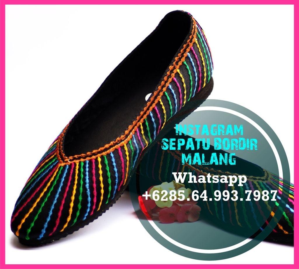 Flat Shoes WanitaHitam, Flat Shoes WanitaKekinian, Flat