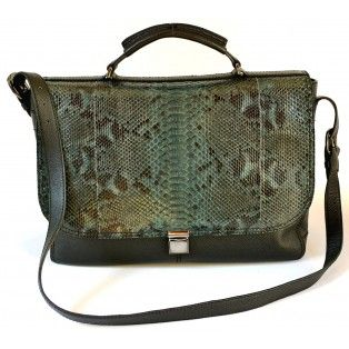 Jo Handmade Genuine Exotic Leather Python Snake Skin Women Designer Handbag