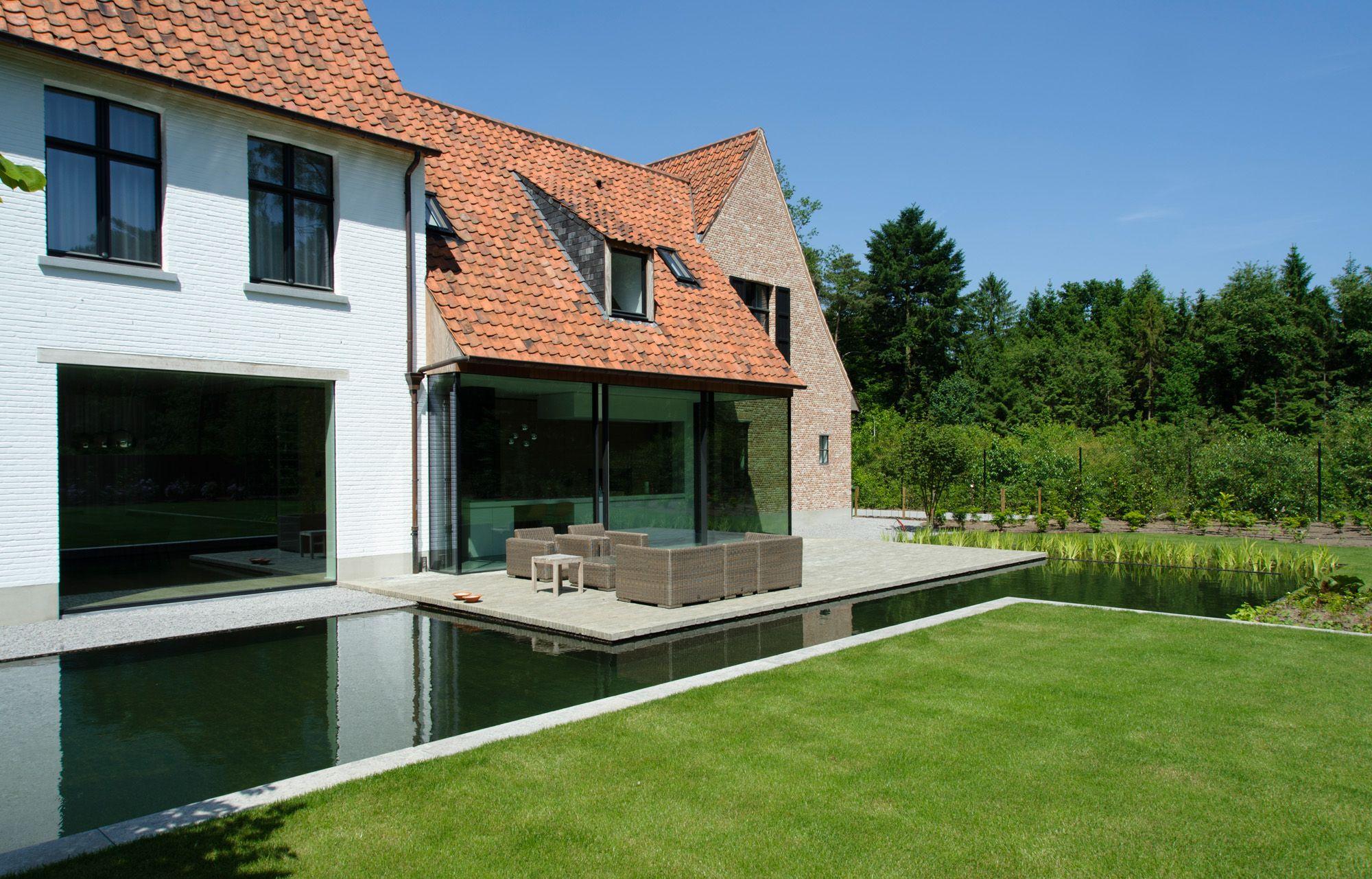 Vlaams landhuis pulle vlassak architects house pinterest interieurarchitectuur - Architectuur renovatie ...