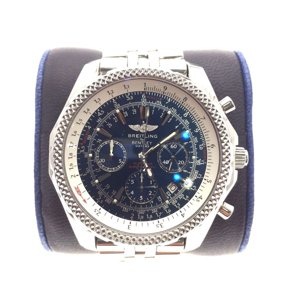 dial special shop w mop automatic mens bezel chronograph watch diamond edition breitling motors bentley