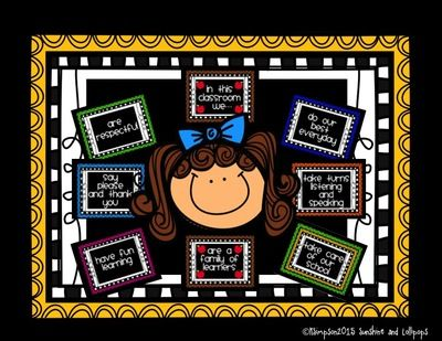 In This Classroom We...Rules or Positive Behavior Statements 50% for first 3 Days from Joy from Joy on TeachersNotebook.com (21 pages)  - Primary classroom positive behavior expectation posters or classroom rules.