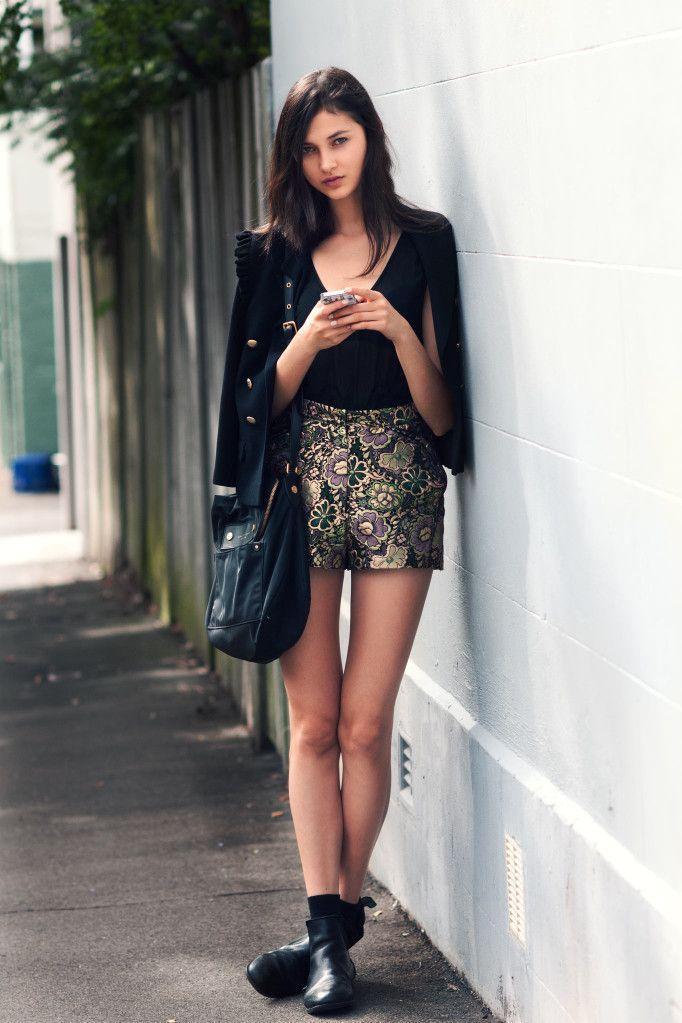great shorts. #EllaVerberne #offduty in Sydney.