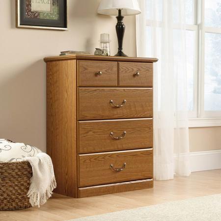 Sauder Orchard Hills 4 Drawer Chest Carolina Oak Dresser Furniture Oak Bedroom Oak Dresser