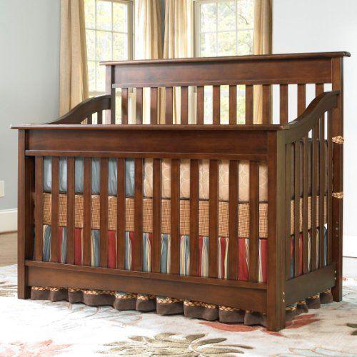 Bonavita Baby Furniture   Bonavita Peyton Collection Lifestyle Crib In  Chocolate