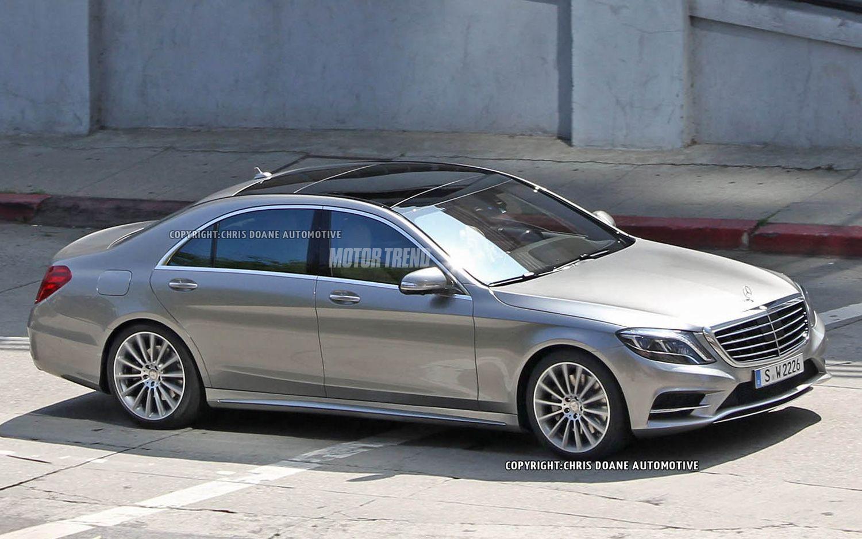 Spied! 2014 MercedesBenz SClass Sedan Completely