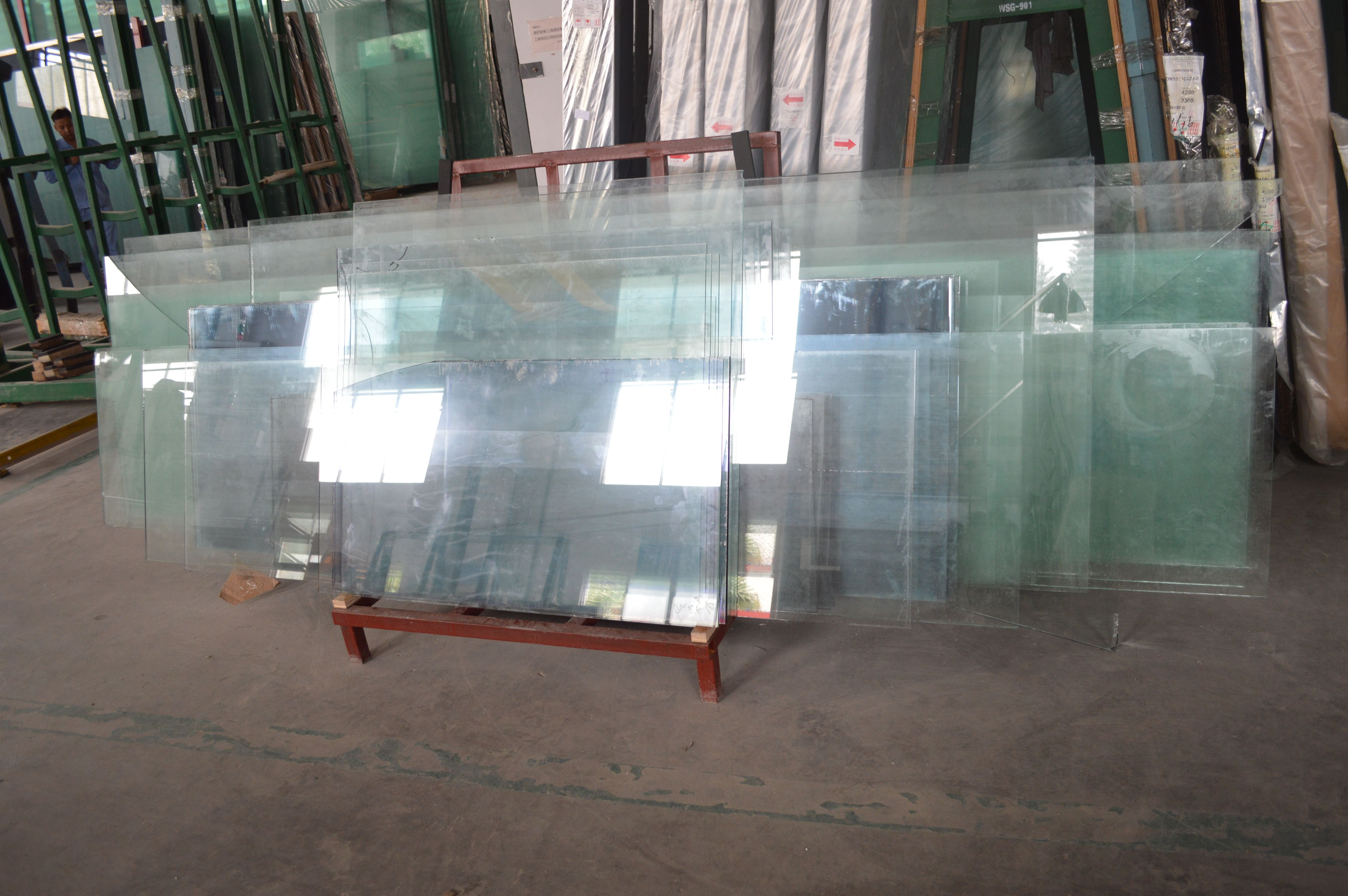 Clear And Tinted Laminated Tempered Glass For Building Tempered Glass Glass Suppliers Glass