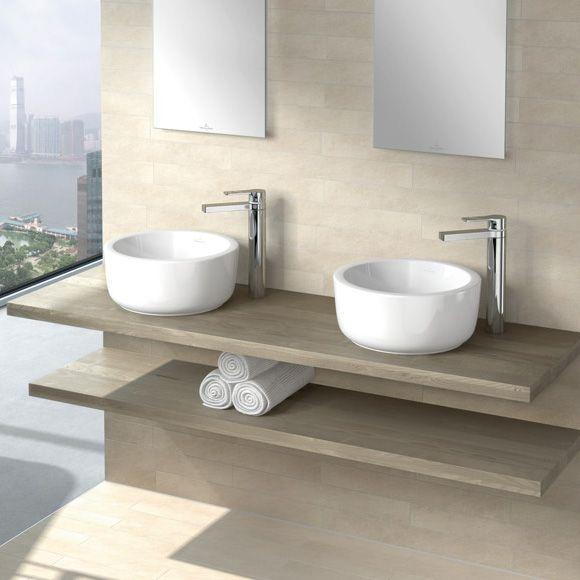 Villeroy  Boch Architectura Aufsatzwaschtisch weiß mit CeramicPlus