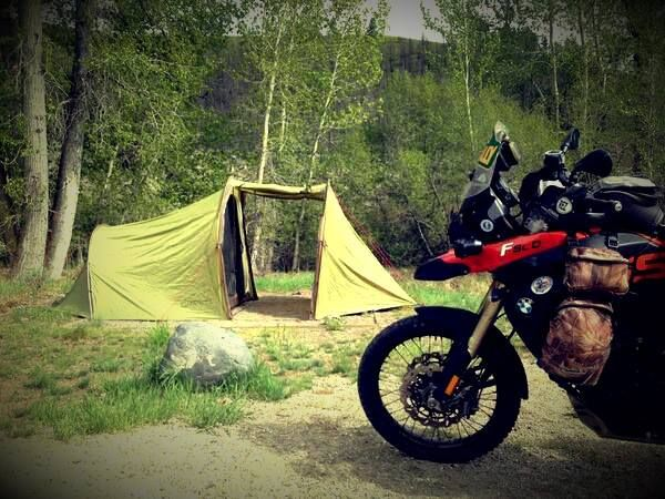 MOTORCYCLE CAMPING | Adventure motorcycling, Motorcycle