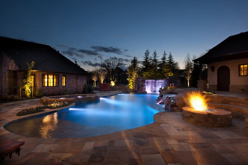 Epic Swimming Pool by Caviness Landscape, USA   DesignRulz.com