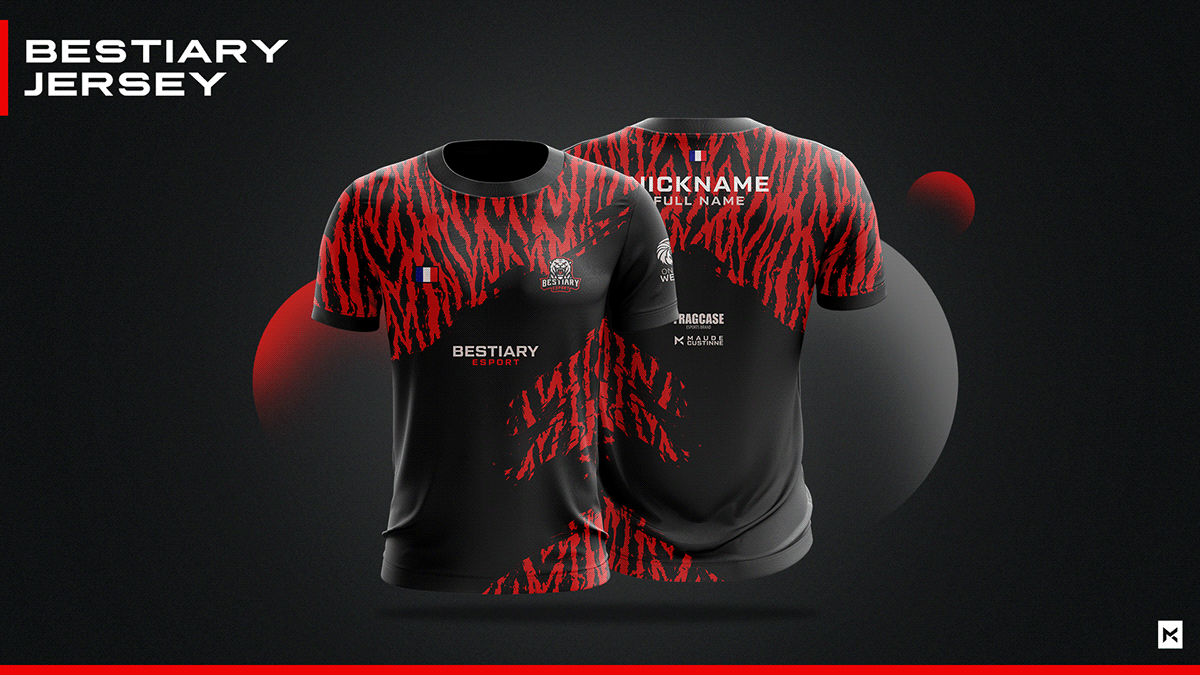 Download Jersey Esport Team Mockup On Behance Sports Jersey Design Jersey Design Jersey