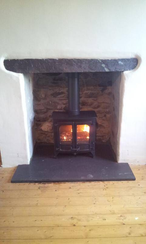 Opening Up A Fireplace In 2020 Wood Burning Fireplace Inserts Fireplace Inserts Old Fireplace