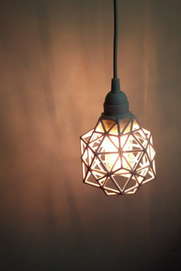 16 Perfect Geometric Light Designs To Decorate Your Home With Pendelleuchte Hangeleuchte Anhanger Lampen